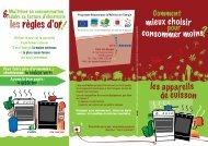 Les appareils de cuisson - ADEME Guyane