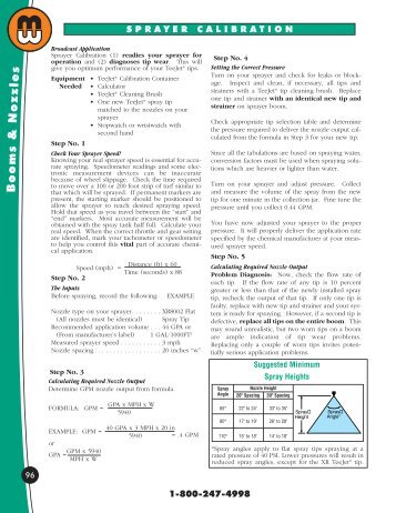 calibration - Minnesota Wanner Co.