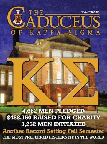 Winter 2010-2011 - Kappa Sigma Fraternity