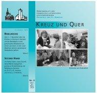KREUZ UND QUER - Ev-luth. Kirchengemeinde Hannover-Hainholz