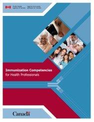 Immunization Competencies for Health Professionals - NurseONE