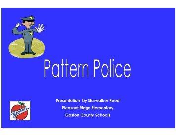 Pattern Police by Starwalker Reed