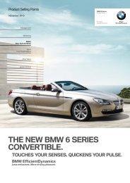 THE NEW BMW 6 SERIES CONVERTIBLE. - Invelt