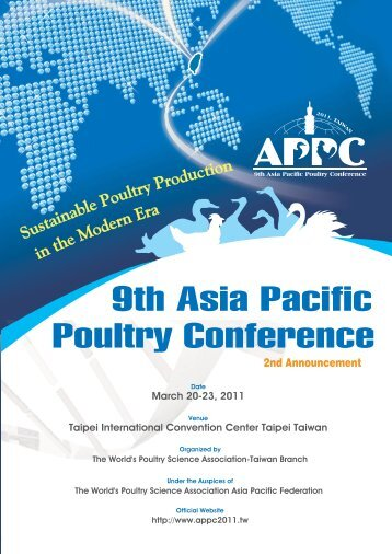 9th Asia Pacific Poultry Conference - WPSA
