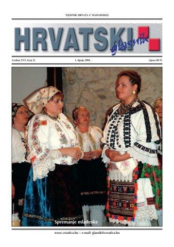 22. broj 1. lipnja - Croatica Kht.
