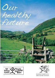 Our Healthy Future 2E - Health in Wales