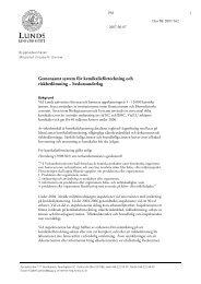 Gemensamt system för kemikalieförteckning och ... - Lunds universitet
