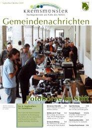 1,76 MB - Marktgemeinde Kremsmünster