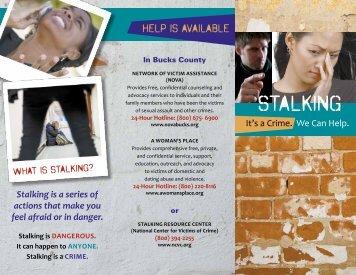 stalking - Network of Victim Assistance