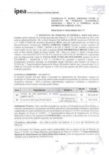 Ação Informática Brasil Ltda - Ipea