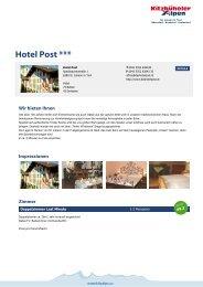Hotel Post *** - Kitzbüheler Alpen St. Johann in Tirol