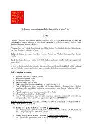 Zápis z 1. jednání Výboru pro hospodářskou politiku - Praha.eu