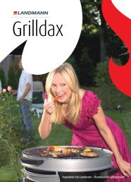 Inspiration från Landmann – Skandinaviens grillspecialist