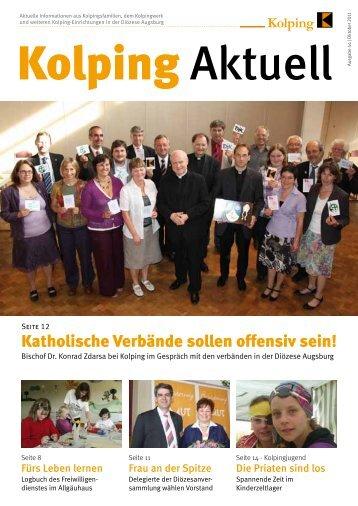 Kolping-Aktuell Oktober 2011 - Kolpingjugend Diözesanverband ...