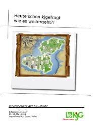 Jahresbericht der KjG Mainz