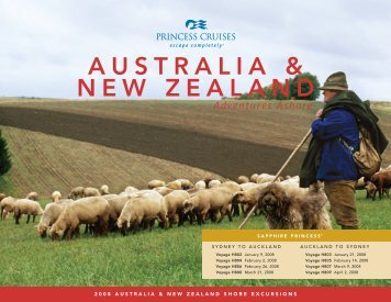 AUSTRALIA & NEW ZEALAND - Croaziere.net