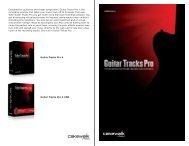 Guitar Tracks Pro 4 Guitar Tracks Pro 4 USB - Roland