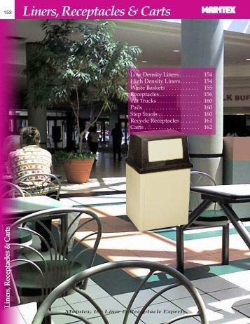 Liners, Receptacles & Carts - Maintex