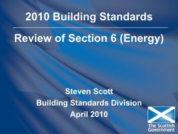 Review of Section 6 - Scottish Energy Systems Group
