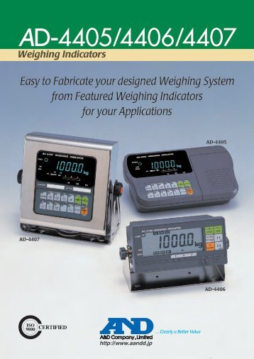 Weighing Indicators
