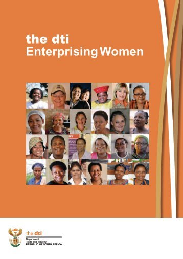 the dti Enterprising Women - The South African LED Network