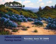 TuESdAY, JunE 23, 2009 - John Moran Auctioneers
