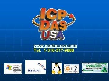 ICP DAS USA Company Presentation