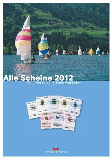 Alle Scheine 2012