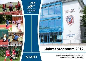 Lehrgänge der Fachverbände - Sportschule Steinbach