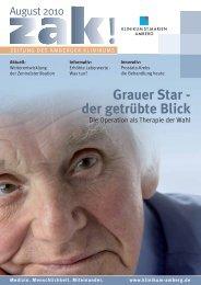 Ausgabe August 2010 - Klinikum St. Marien Amberg