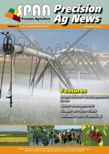 Autmn 2010 Volume 6 Issue 2 - SPAA