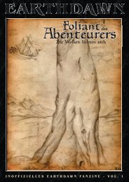 Foliant des Abenteurers, Vol. I: Die Wolken lichten sich