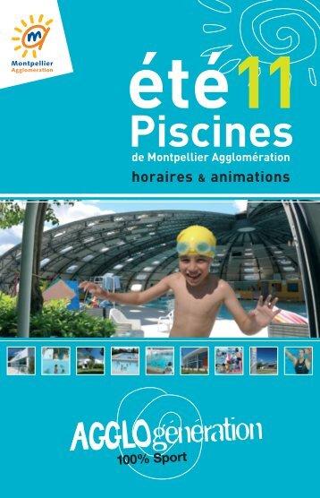Piscines - Montpellier Agglomération