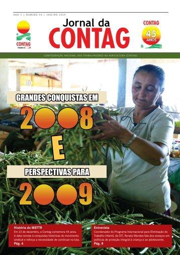 GRANDES CONQUISTAS EM PERSPECTIVAS PARA - Contag