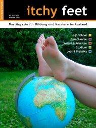 Das Magazin für Bildung und Karriere im Ausland - itchy feet