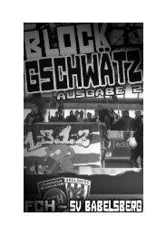 Ausgabe 02 – SV Babelsberg 03 - Fanatico Boys