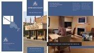 Hotel Brochure - Ambassador Hotel