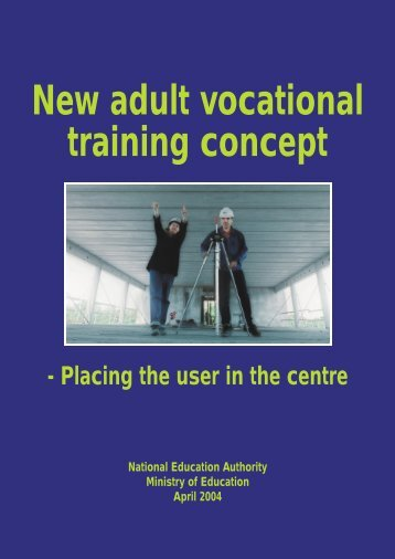 New adult vocational training