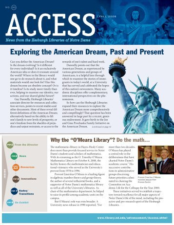 Exploring the American Dream, Past and Present - University of ...