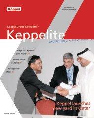 November 2010 - Keppel Corporation