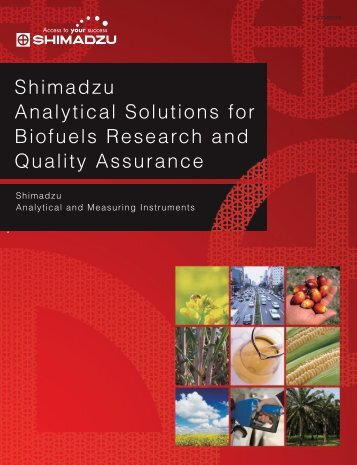 Shimadzu Analytical and Measuring Instruments