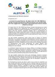 3E, Alstom Grid, CG, CMI, DEME Blue Energy ... - Cgglobal.com