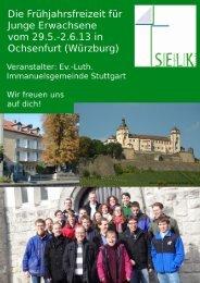 Freizeit für Junge Erwachsene - SELK Landau und Crailsheim