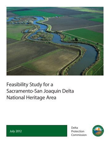 Feasibility Study - Delta Protection Commission - State of California