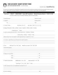 2009 accident/ injury report form - United States Eventing Association