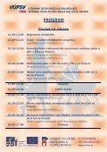 Program - Výzkumný ústav práce a sociálních věcí - Page 2