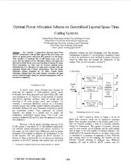 Optimal power allocation scheme on generalized ... - IEEE Xplore