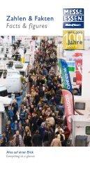 Zahlen & Fakten Facts & figures - Messe Essen