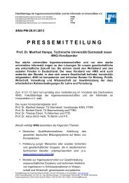 Prof. Dr. Manfred Hampe, Technische Universität Darmstadt ... - 4Ing