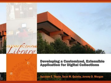 presentation - Information Technology and Services - Syracuse ...